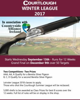 Courtlough Winter League 2017