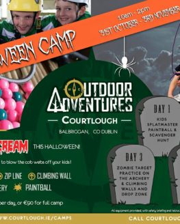 Halloween Adventure Camp 2017