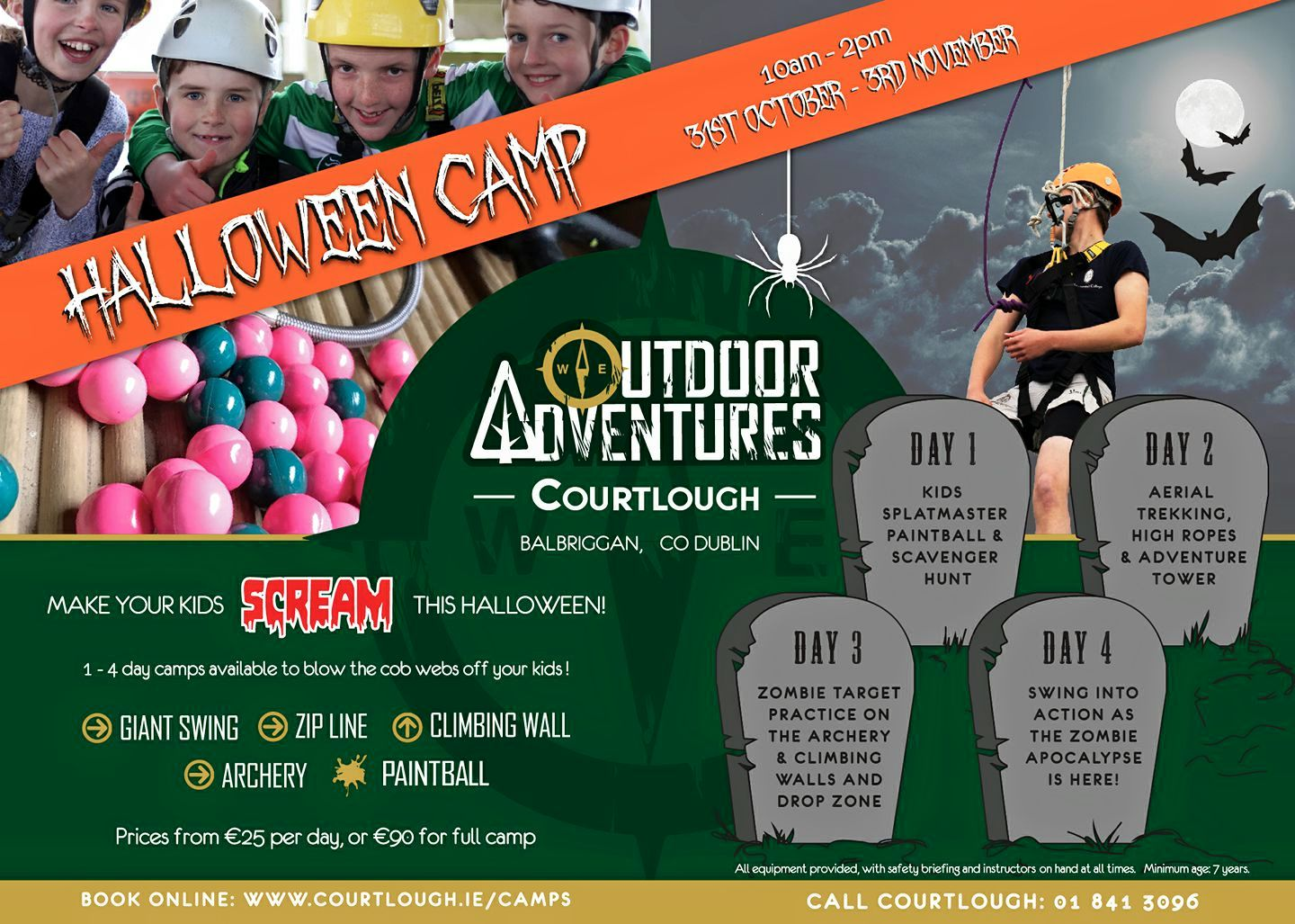 Halloween Adventure.Halloween Adventure Camp 2017 Courtlough